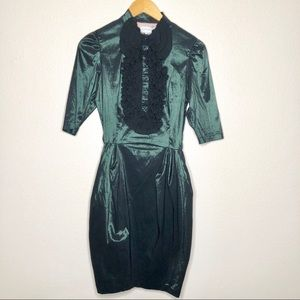 Marmalade Party Dress Gothic Steampunk Size 36